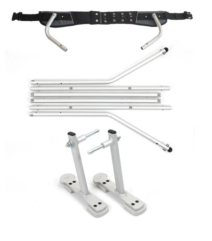 Set adaptador esquí p.remolque niños XLC para XLC Mono y Duo.
